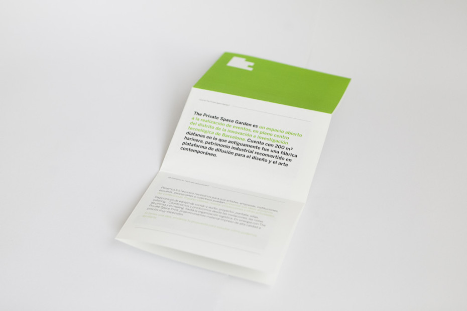 TPS garden brochure