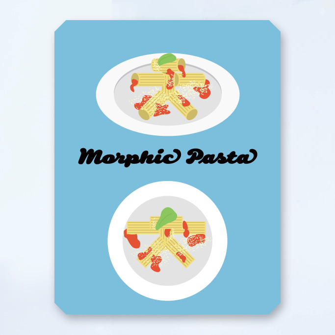 Morphic pasta