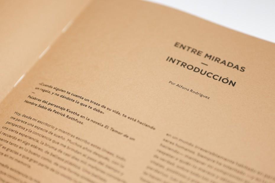 Entre Miradas book