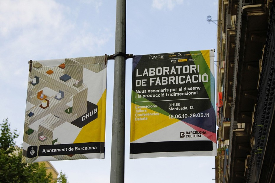 Fabrication Laboratory flags