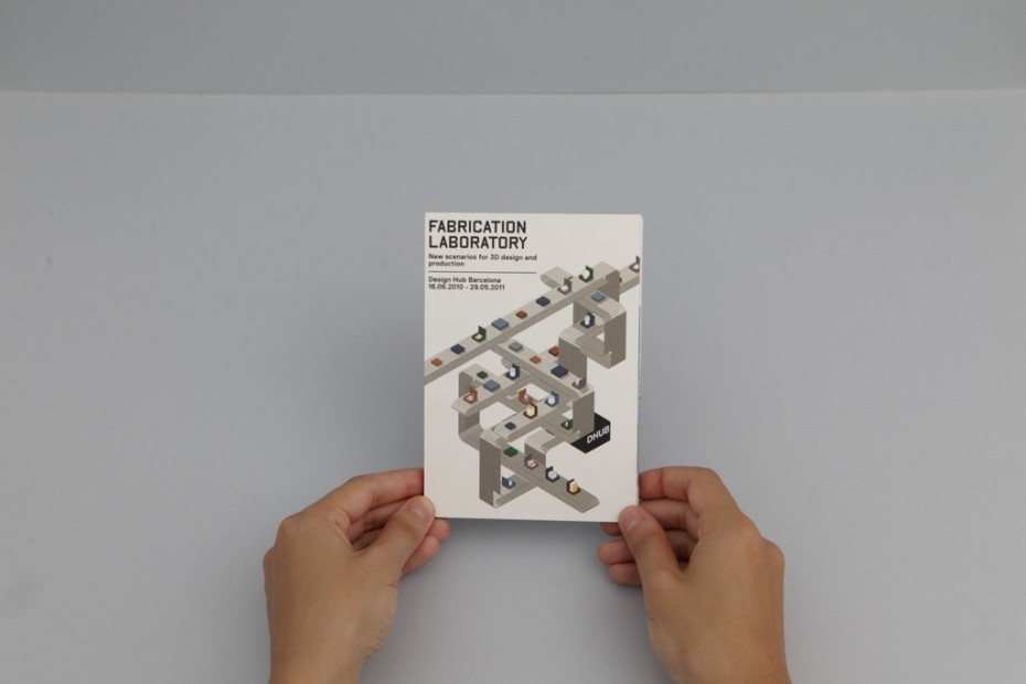 Fabrication Laboratory foldable brochure